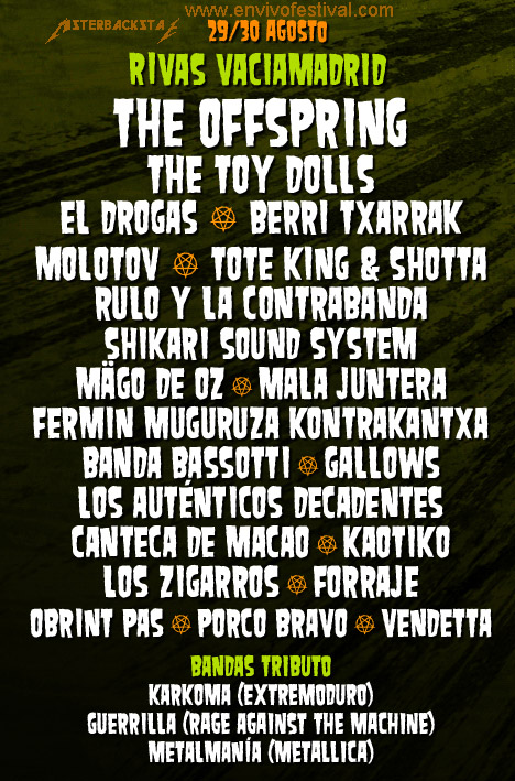 nvivo festival madrid cartel oficial 2013 by misterbackstage